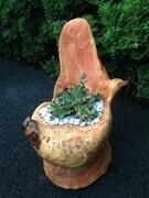 Fir Chair Planter